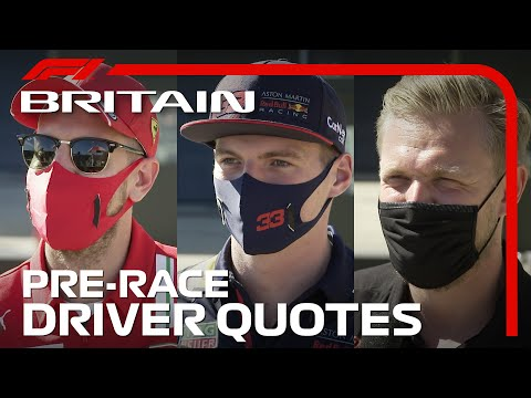 2020 British Grand Prix: F1 Drivers Chat Ahead of Race Weekend