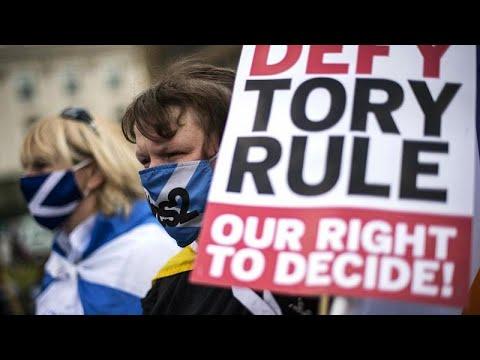 Covid-19 e independência dominam campanha eleitoral escocesa