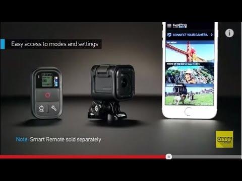 GoPro HERO4 Session Camera & Accessories