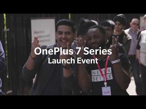 OnePlus 7 Series Launch Event Recap