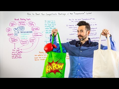 How to Beat Your Competitor's Rankings with More *Comprehensive* Content - Whiteboard Friday