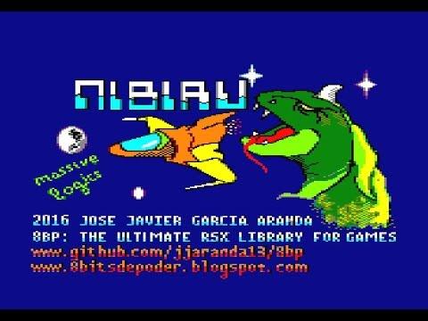 """Nuevo Juego """"Nibiru"""" para AMSTRAD en BASIC usando 8BP"""