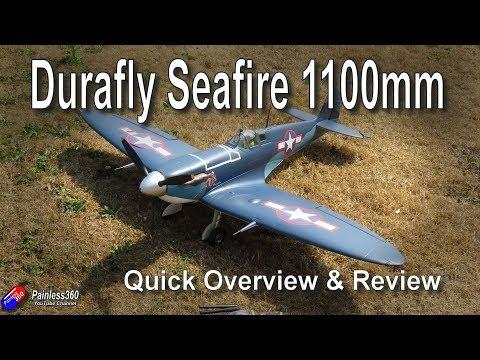 Durafly 1100mm Seafire/Spitfire Quick Review - UCp1vASX-fg959vRc1xowqpw