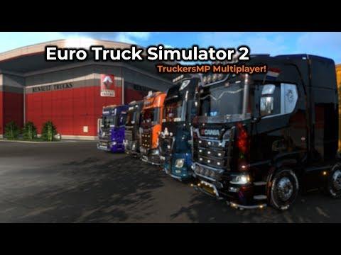 Euro Truck Simulator 2 - TruckersMP (Opname 31/01/2019)