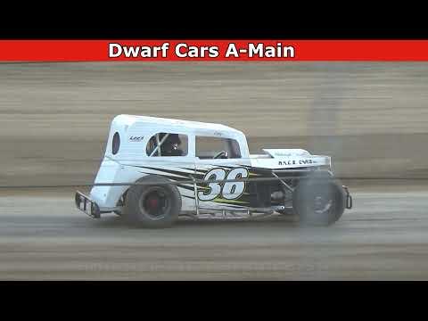 Grays Harbor Raceway, July 23, 2021, Dwarf Cars A-Main - dirt track racing video image