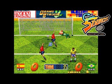 "GRAND STRIKER 2 - ""CON 5 DUROS"" Episodio 844 (2P con Carlos Madurga) (+Pixel Cup Soccer 17) (1cc)"