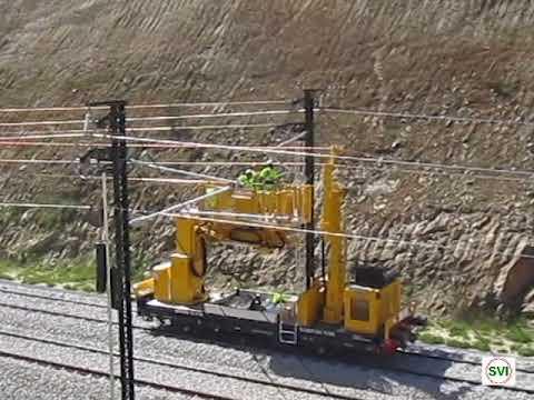 Treno di tesatura SVI S.p.A.