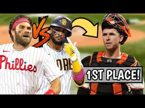 Bryce Harper PASSES Fernando Tatis Jr for MVP!? Giants BEAT Dodgers, Standings (MLB Recap)