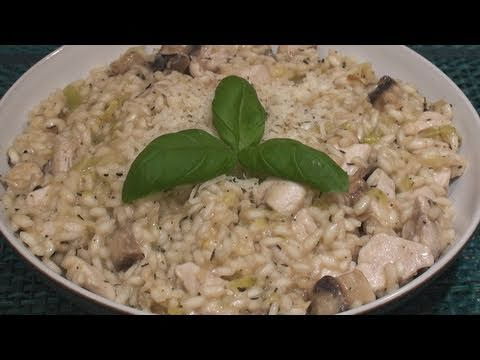 Risotto Recipe (Chicken & Mushroom, but that's not important...)