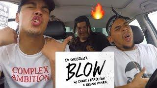 Ed Sheeran - BLOW (with Chris Stapleton & Bruno Mars) FIRST ROCK REACTION