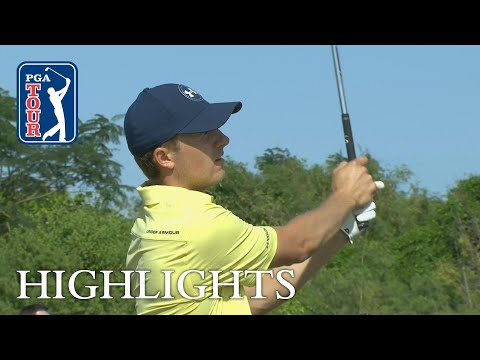 Jordan Spieth extended highlights | Round 2 | Hero