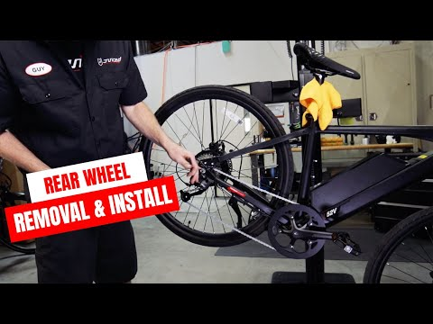 Juiced Bikes Rear Wheel Removal and Installation