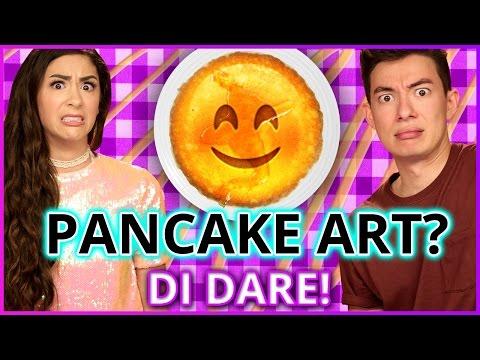 DIY PANCAKE ART?! Di Dare w/ Motoki Maxted & Cassie Diamond