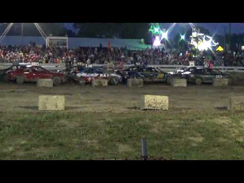 Arenac County fair 2018 Bump and Run (Stock) feature (8-4-2018)