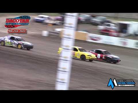 Dacotah Speedway IMCA Sport Compact Races (5/21/21) - dirt track racing video image