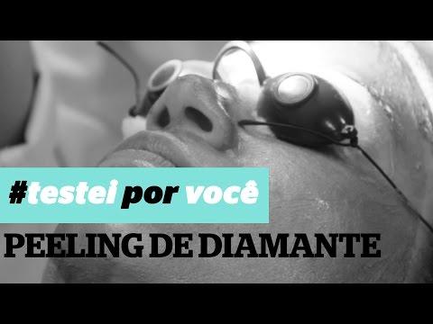 Testei por você: peeling de diamante