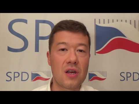 Tomio Okamura: Je naší povinností ubránit naše země proti invazi muslimských barbarů