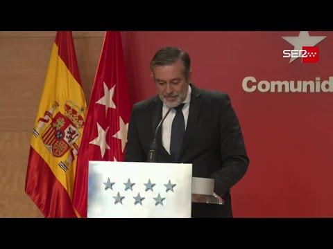 """Madrid cierra desde las 22 horas de esta noche y el Gobierno de Ayuso augura el """"caos económico"""""""