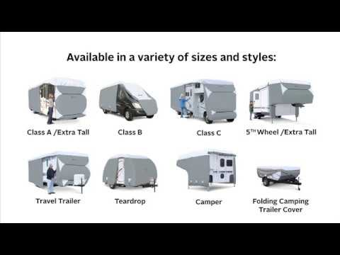 Classic Accessories PolyPro III Deluxe Class C RV Cover - Fits 23ft.-26ft. RVs