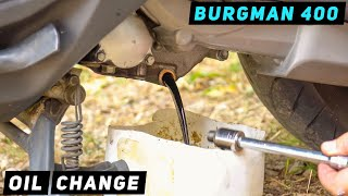 Sostituzione olio Suzuki Burgman 400