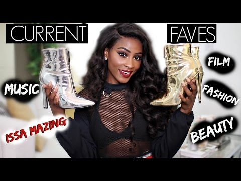 CURRENT FAVOURITE THINGS- MUSIC, FASHION, BEAUTY & MORE!!