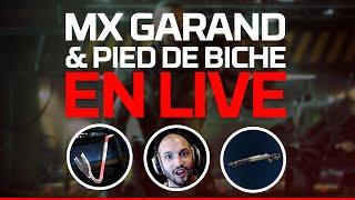 video : MrLEV12 Mx Garand et Pied de Biche en Live! Du fun sur BO3 en vidéo