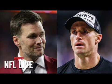 NFL Live's Bold Predictions: Brees retires, Brady leaves the Patriots, Jameis Winston stays in Tampa