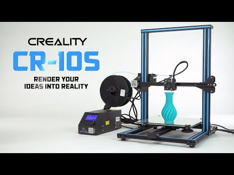 Creality CR-10S 3D Printer - HobbyKing Product Video - UCkNMDHVq-_6aJEh2uRBbRmw