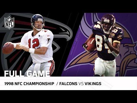 1998 NFC Championship Game: Atlanta Falcons vs. Minnesota Vikings| NFL Full Game