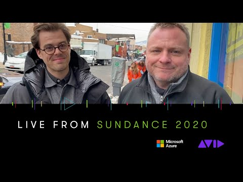 #AVID #SUNDANCE ⏩ We talk with editor Matt Hannam (The Nest, Possessor)