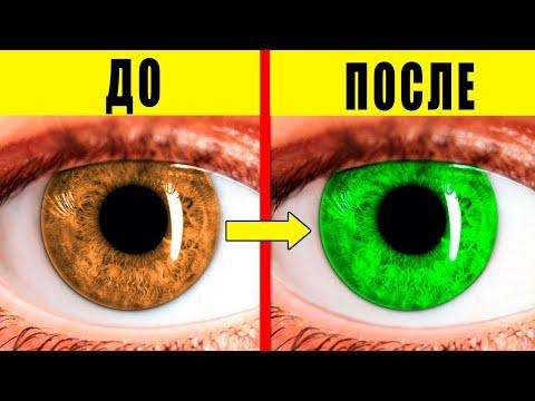 Вещи, Которые Могут Изменить Цвет Глаз