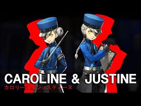 Persona 5: Introducing Caroline & Justine