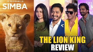 The Lion King Review By Bollywood Celebs | Special Screening | Simba | Nala