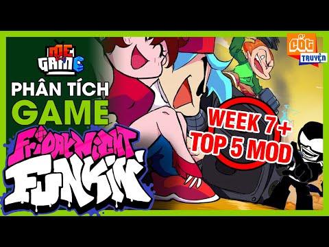 Phân Tích Game: Friday Night Funkin Week 7 & Top 5 Mod Khó Nhất | meGAME