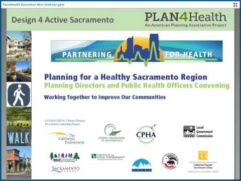 Plan4Health: Spurring Cross-Sector Collaboration in Sacramento