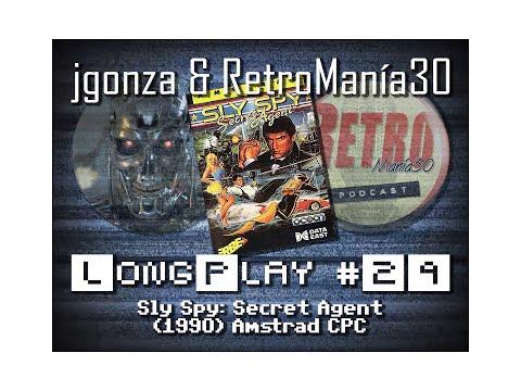 Sly Spy - Amstrad CPC Longplay