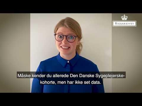 Forskningsdata i Rigsarkivet - Den Danske Sygeplejerskekohorte