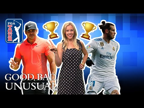 Koepka?s 2-peat, Tosh.O roots on his nephew & Gareth Bale checks off Sawgrass