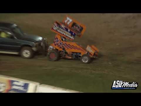 Lightning Sprints: 2020/21 Queensland Title - A-Main - Archerfield Speedway - 22.05.2021 - dirt track racing video image