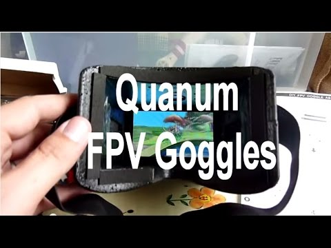 Quanum DIY FPV Goggle kit review Hobbyking cheapest video goggles ever ? - UC9JoBmuGtBUmEPMoTMbbfsQ