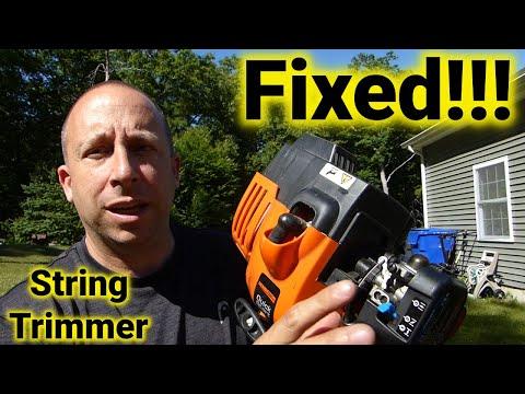 String Trimmer Carburetor Teardown and Clean