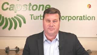 Capstone Turbine CEO talks through 1Q earnings and reacts to London's power outage HD