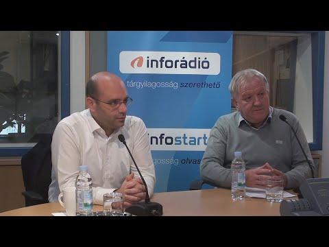 InfoRádió - Aréna - Mráz Ágoston Sámuel és Závecz Tibor - 2021.10.18.