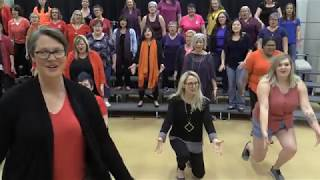 Female Barbershop Chorus Prepare for International Competition