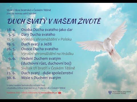 Osoba Ducha Svatého jako dar