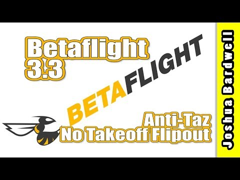 BETAFLIGHT 3.3 | Runaway Takeoff Prevention (anti-taz) - UCX3eufnI7A2I7IkKHZn8KSQ