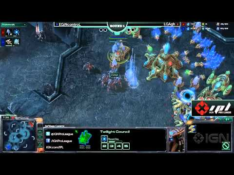 StarCraft 2 IGN Tournament: EGiNcontroL vs LGAgh - Game 1 - UCKy1dAqELo0zrOtPkf0eTMw