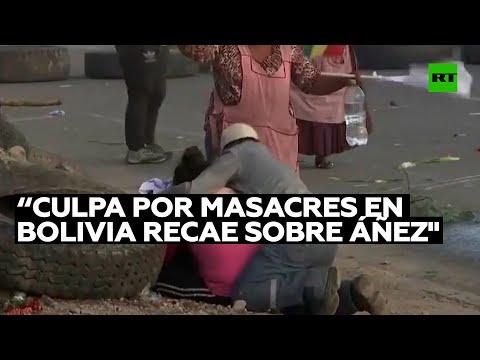 Sociólogo: «El peso de culpa por masacres en 2019 en Bolivia recae sobre el ejecutivo de Áñez»