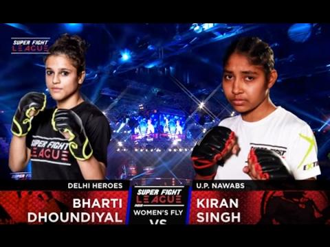 Bharti Dhoundiyal v/s Kiran Singh | Delhi Heroes v/s UP Nawabs