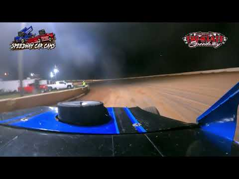 #17 Neil Johnston - USRA B Modified - 6-12-2021 Tri-State Speedway - In Car Camera - dirt track racing video image
